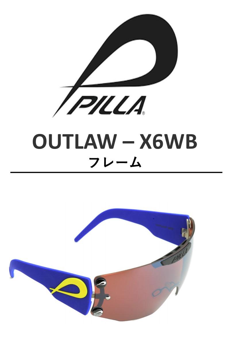 PILLA OUTLAW X6WB FRAMES